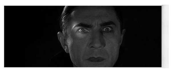 Bela Lugosi  Dracula 1931 And His Piercing Eyes Yoga Mat
