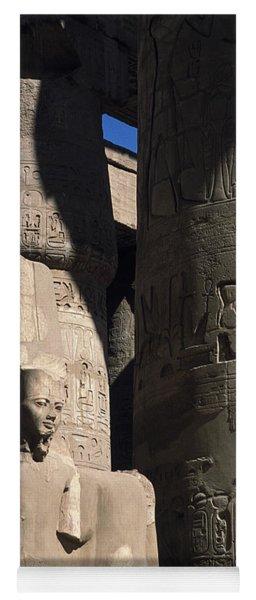 Belief In The Hereafter - Luxor Karnak Temple Yoga Mat