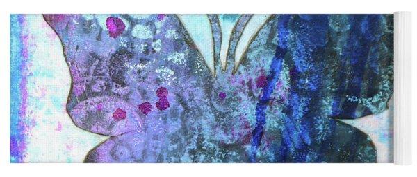 Believe Butterfly Yoga Mat