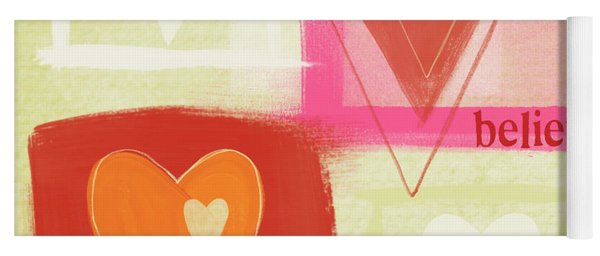 Believe In Love Yoga Mat