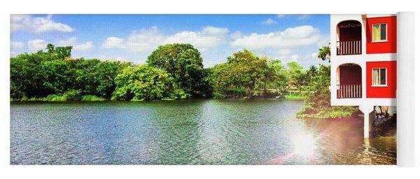 Belize River House Reflection Yoga Mat