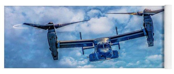 Bell Boeing V-22 Osprey  Yoga Mat