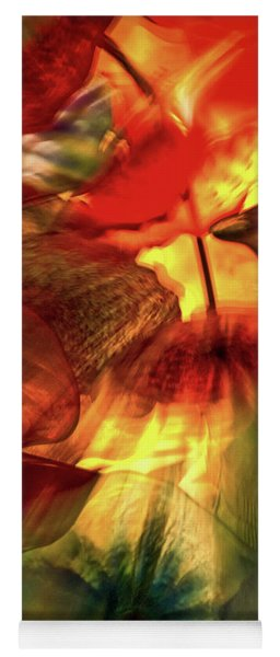 Bellagio Ceiling Sculpture Abstract Yoga Mat