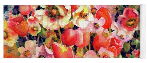 Belle Fleurs II Yoga Mat