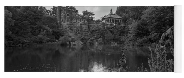 Belvedere Castle Central Park Nyc  Yoga Mat