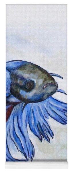 Ben Blue Betta Fish Yoga Mat