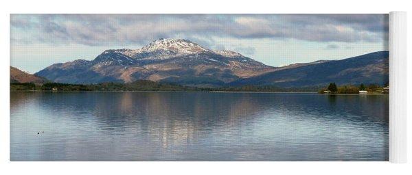 Loch Lomond - Cloud Reflections Yoga Mat