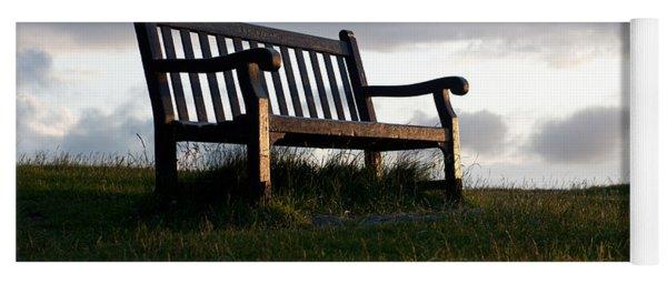 Bench At Sunset Yoga Mat