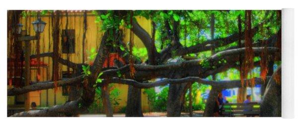 Beneath The Banyan Tree Yoga Mat