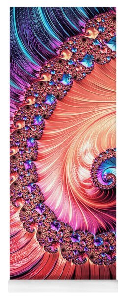 Beneath The Sea Spiral Yoga Mat