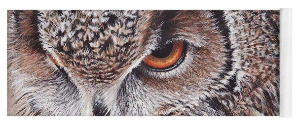 Bengal Eagle Owl Yoga Mat