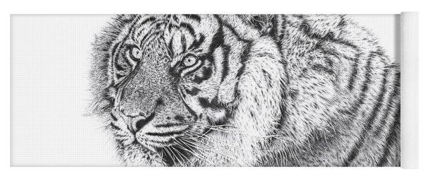 Bengal Tiger Yoga Mat
