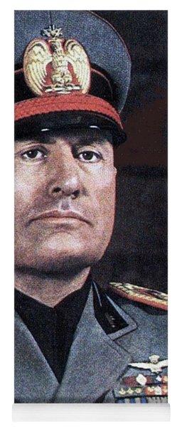 Benito Mussolini Color Portrait Circa 1935 Yoga Mat