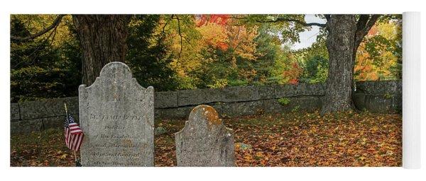 Benjamin Butler Grave Yoga Mat