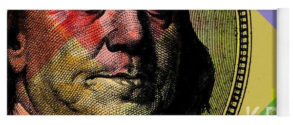 Benjamin Franklin - $100 Bill Yoga Mat