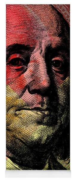 Benjamin Franklin - $100 Bill Yoga Mat