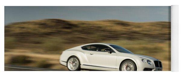 Bentley Continental Gt V8 Yoga Mat