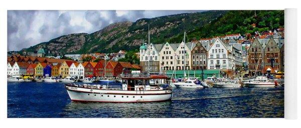 Bergen - Norway Yoga Mat