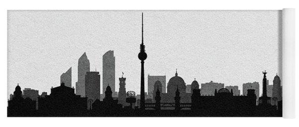 Berlin Cityscape Art Yoga Mat