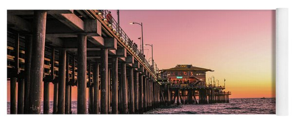 Beside The Pier By Mike-hope Yoga Mat