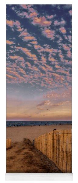 Bethany Beach At Twilight Yoga Mat
