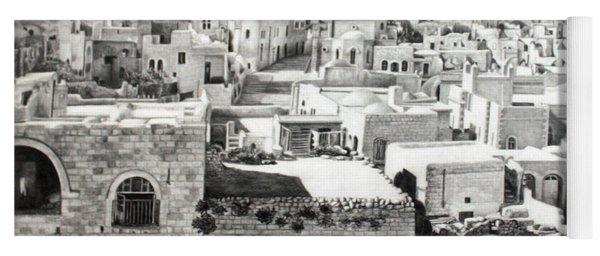 Bethlehem Old Town Yoga Mat