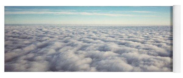 Between Heaven And Earth Yoga Mat