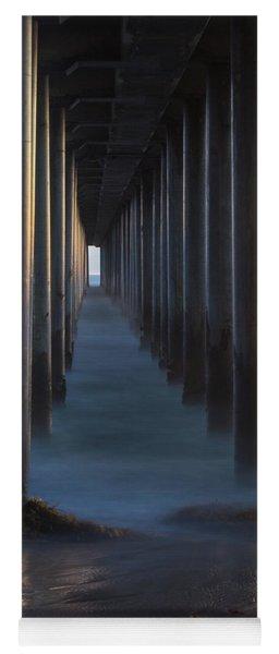 Between The Pillars  Yoga Mat