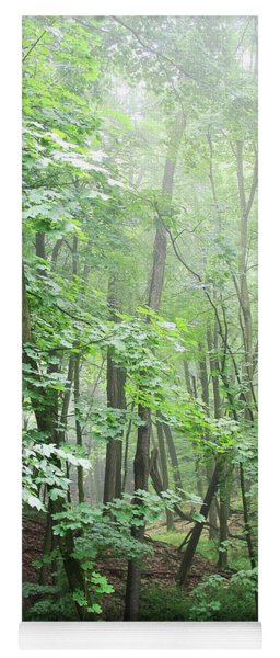 Beyond The Misty Forest Yoga Mat