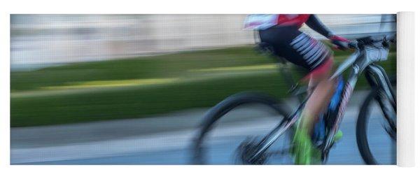 Bicycle Race Yoga Mat