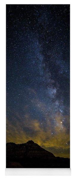 Big And Bright Texas Night Yoga Mat