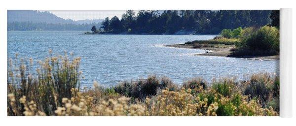 Big Bear Lake Shoreline Yoga Mat