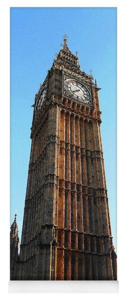 Big Ben Clock Tower At The Sunset Yoga Mat