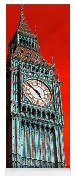 Big Ben Pop Art 2012 Yoga Mat