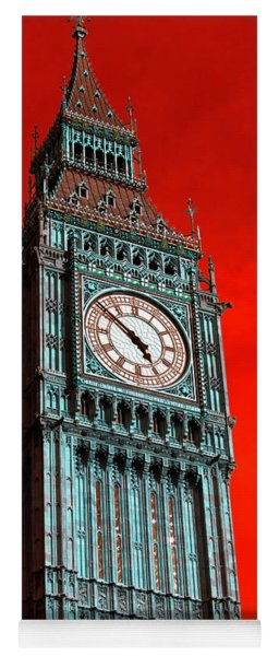 Big Ben Pop Art Yoga Mat