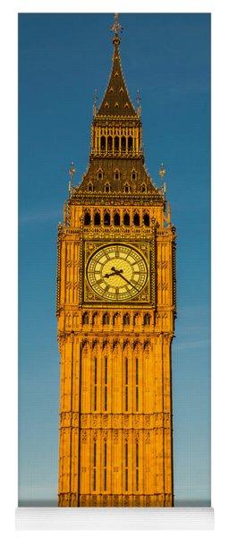 Big Ben Tower Golden Hour London Yoga Mat