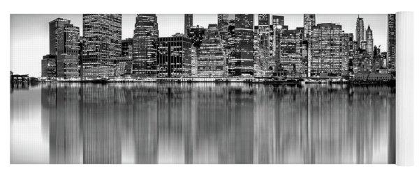 Big City Reflections Yoga Mat