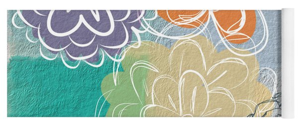 Big Flowers Yoga Mat