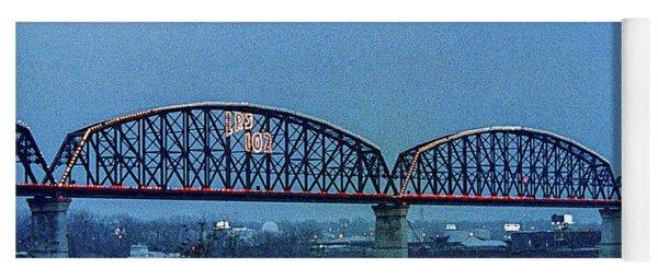 Big Four Bridge Yoga Mat