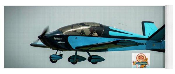 Big Muddy Air Race Number 100 Yoga Mat