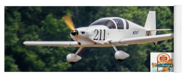 Big Muddy Air Race Number 211 Yoga Mat