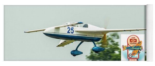 Big Muddy Air Race Number 25 Yoga Mat