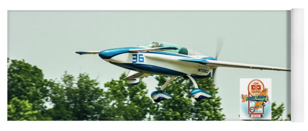 Big Muddy Air Race Number 36 Yoga Mat