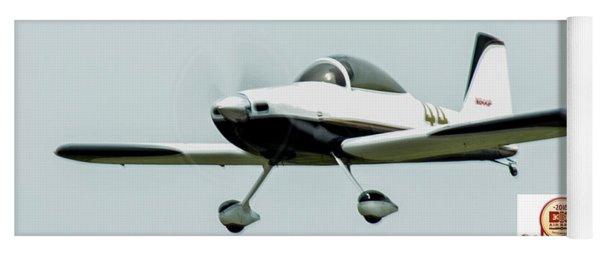 Big Muddy Air Race Number 44 Yoga Mat