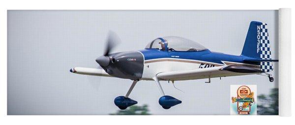 Big Muddy Air Race Number 503 Yoga Mat