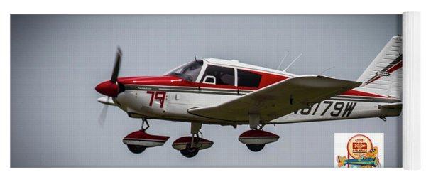 Big Muddy Air Race Number 79 Yoga Mat