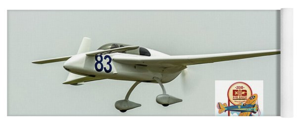 Big Muddy Air Race Number 83 Yoga Mat