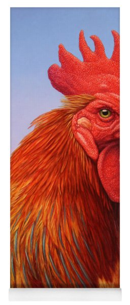 Big Red Rooster Yoga Mat