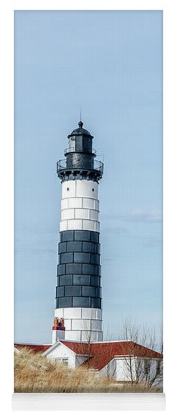 Big Sable Point Lighthouse And Tower Yoga Mat