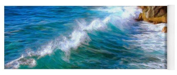 Big Sur Coastline Yoga Mat